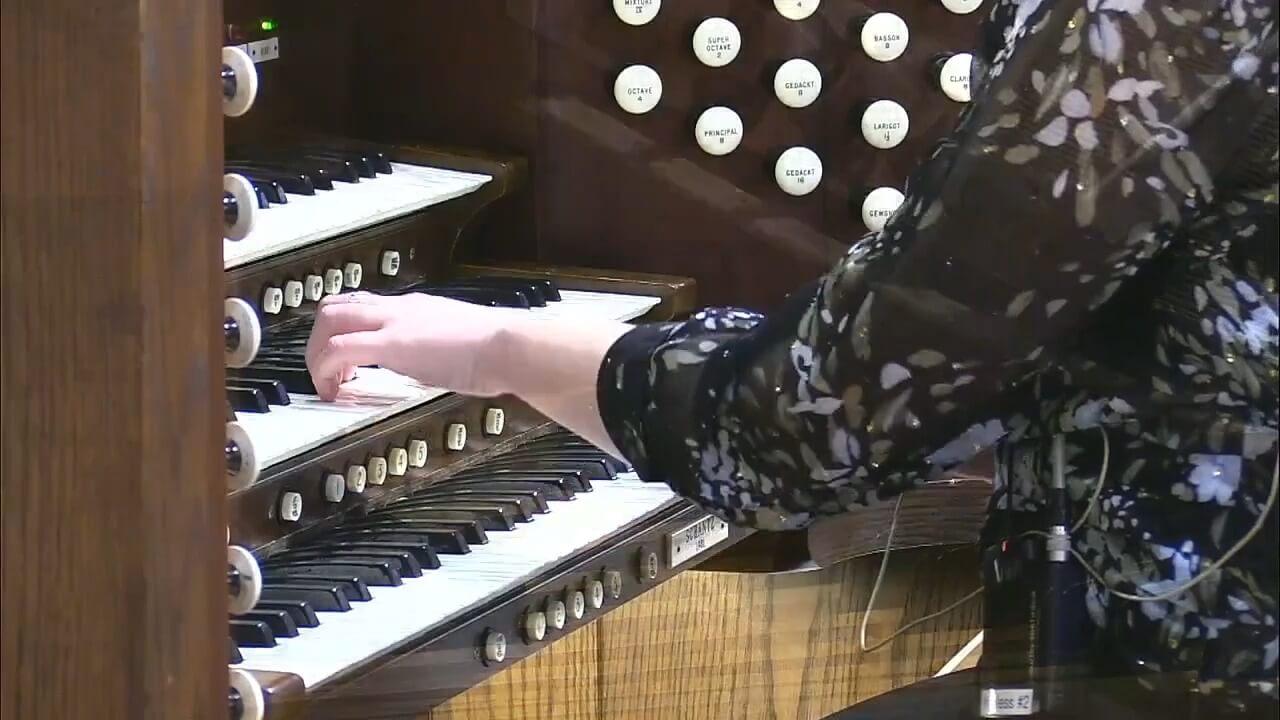 Sarah Organ Concert Image
